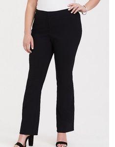 torrid Pants & Jumpsuits - Torrid Black Studio Standard Stretch Boot Pants